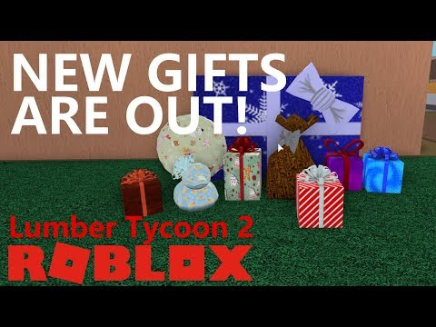 Opening All Gifts In Lumber Tycoon 2 Roblox Gameplay Youtube New Gifts Are Out 2018 Lumber Tycoon 2 Youtube