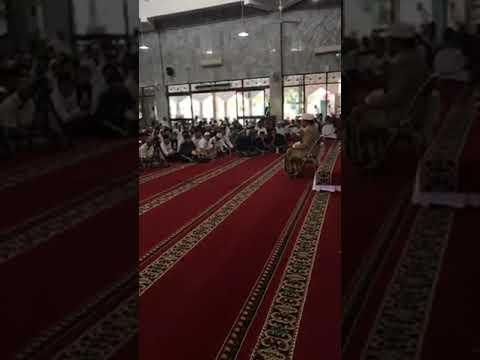 H Muammar ZA - LIVE HAFLAH DI MASJID USWATUN HASANAH   PINANG GRIYA PERMAI