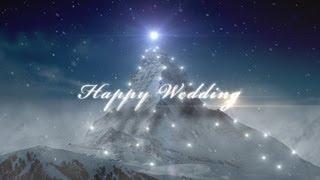Repeat youtube video 結婚式用自作ムービーをセンスよく☆無料映像素材[Happy Wedding]