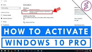 How TO Activate Windows 10 Pro Free 2018