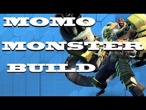 Montana - MoMo Monster Build- (Health- Dmg Reduction Build) Battleborn - pvp