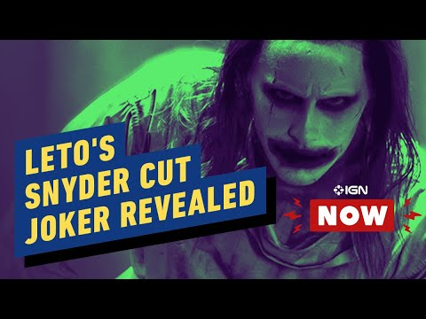 Jared Leto's New Joker Look Revealed for Snyder Cut of Justice League - IGN Now