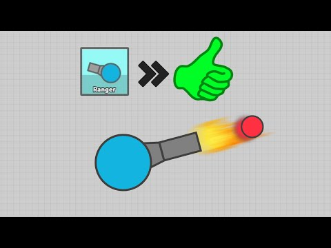 DIEP.IO BEST TANK - Best Tank Build Strategy For Ranger / Assassin #1 - Diep.io Team Deathmatch
