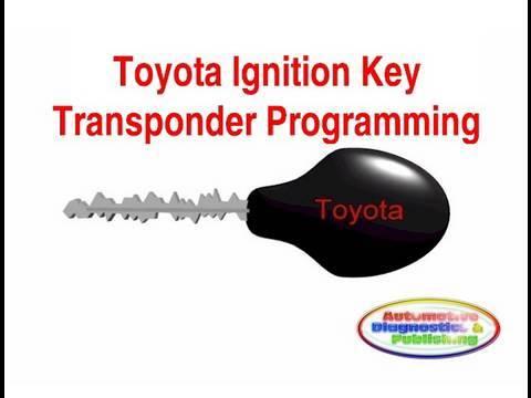 Toyota Ignition Key Programming - YouTube