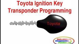 видео Прописать чип ключ Toyota RAV4 2009 г.в., ключ зажигания Toyota, чип для автозапуска, Раменское