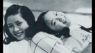 歌手としてデビュー前に出演しいた「虹」でのルミ子さんの画像を見なが...