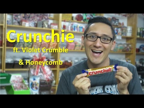 Crunchie ft. Violet Crumble & Honeycomb // TheCandyGuy