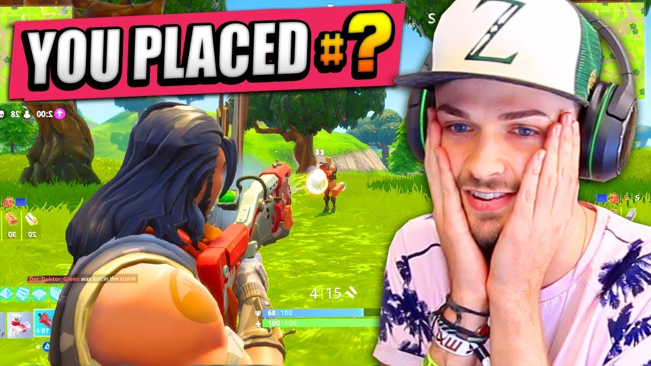 Ali A Fortnite ali-a's first time playing fortnite: battle royale! - (rank #1?)