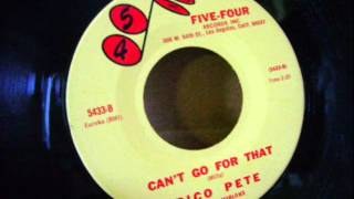 PICO PETE & THE MARLONS - CAN