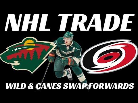 NHL Trade - Wild trade Neiderreiter to Canes