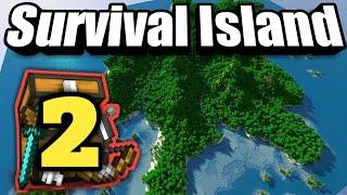 Download Minecraft Survival Island #2 •Build Farm otomatis
