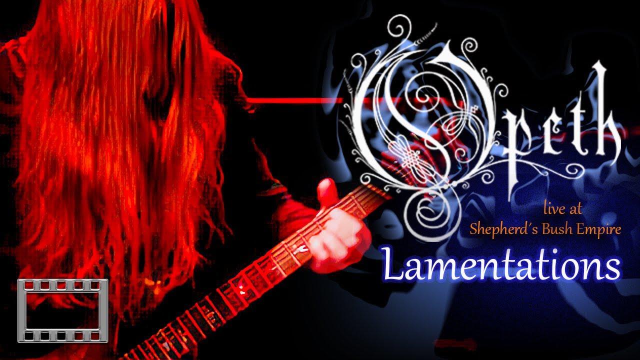 Download Opeth - Lamentations ( Live at Shepherd's Bush Empire 2003 ) Full Concert 16:9 HQ