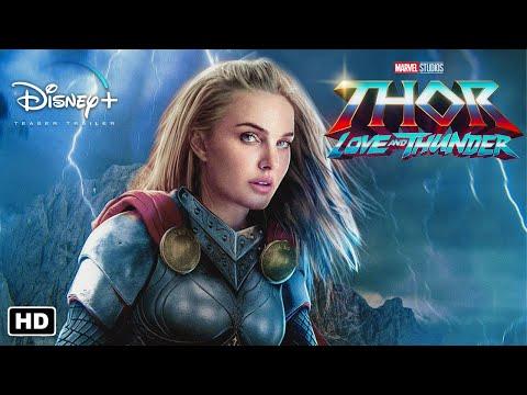 THOR: LOVE AND THUNDER Trailer #1 | Disney+ Concept | Chris Hemsworth, Natalie Portman