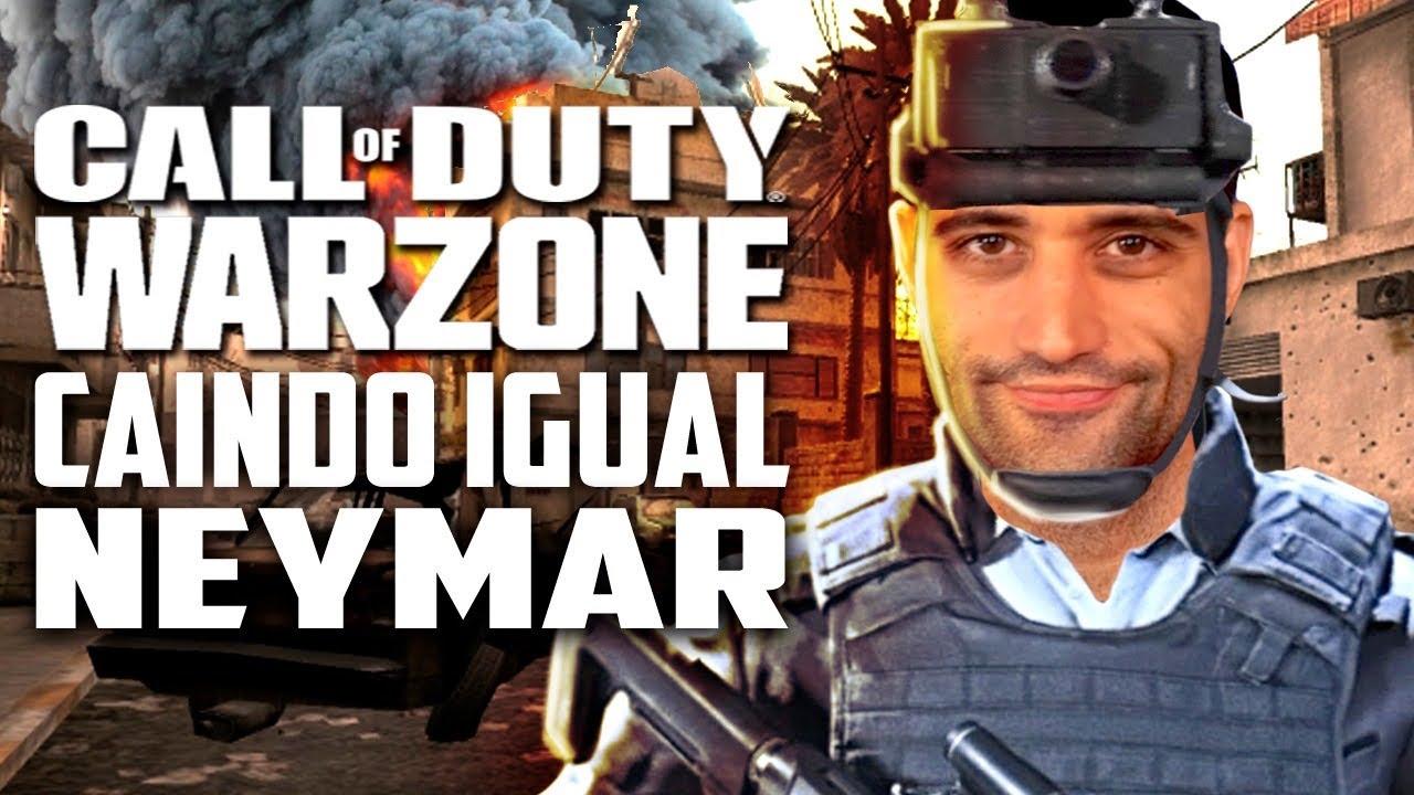 Call of Duty: Warzone - Caindo mais que o NEYMAR