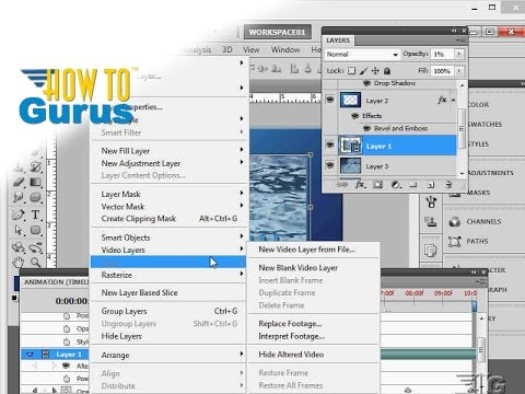 How to lock and unlock a layer in adobe photoshop cs5 cs6 cc.