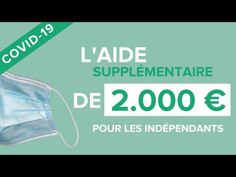Indépendants & Coronavirus: l'aide supplémentaire de 2000€