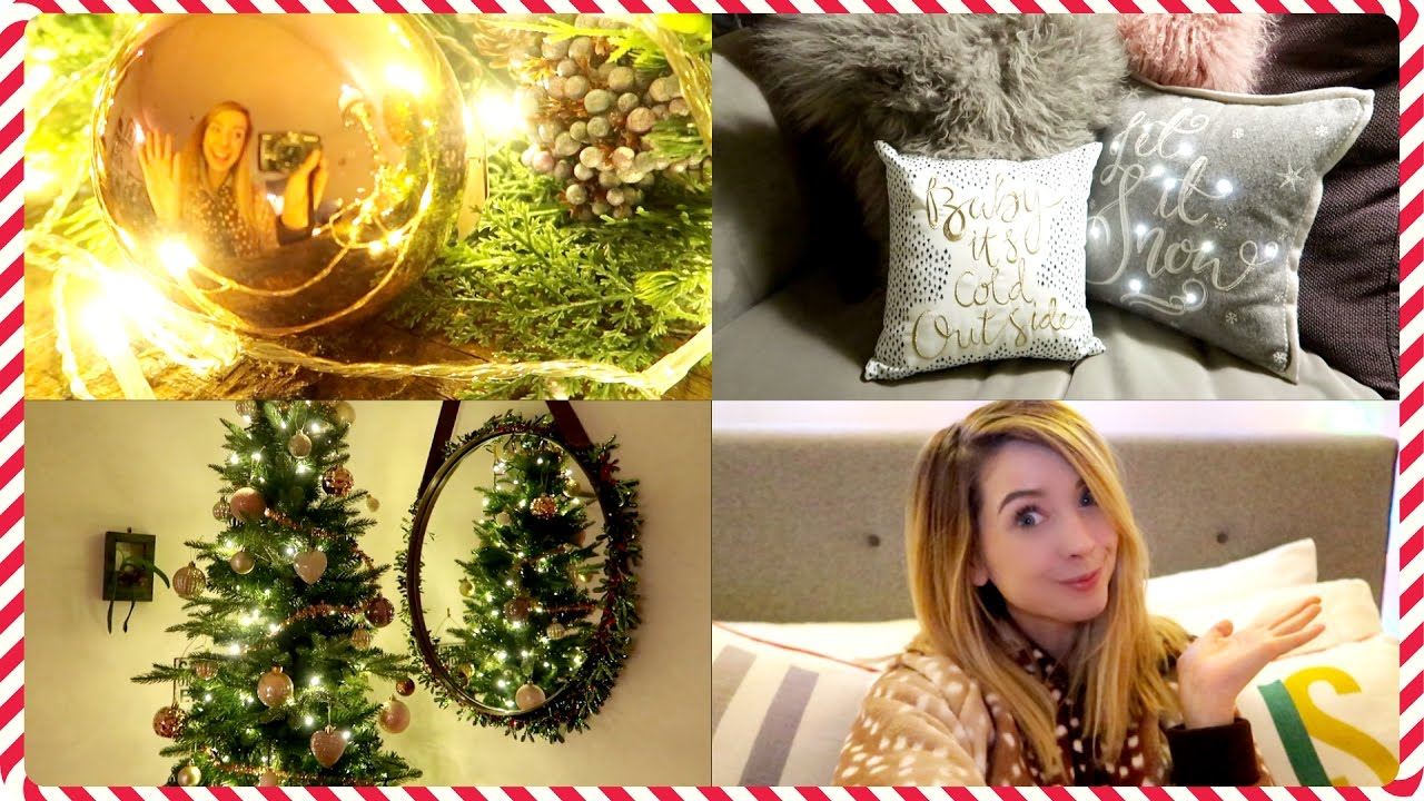 Christmas House Tour | Zoella - YouTube