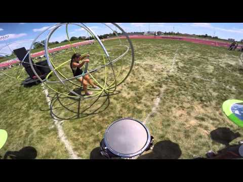 2015 Bluecoats snare cam - Mike Davis center snare
