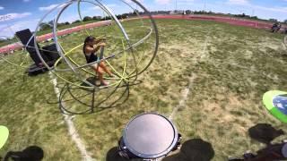 2015 Bluecoats snare cam - Mike Davis center snare