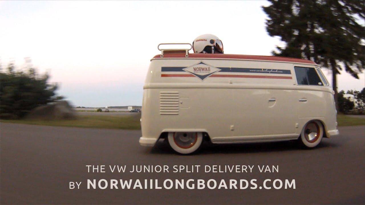 Vw Junior Split Delivery Van Electric Go Kart By