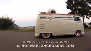 VW Junior Split Delivery Van - Electric Go Kart By Norwaiilongboards