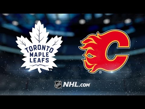 Four different Leafs score in 4-1 win against Flames