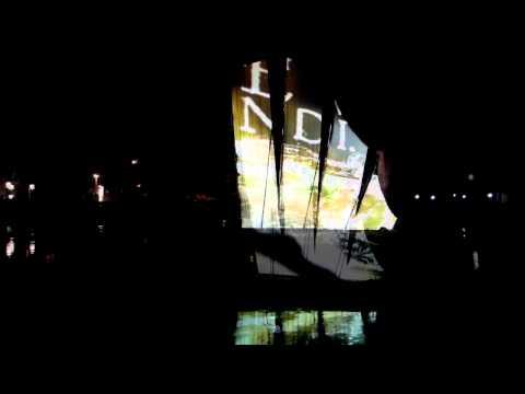 berblinger 3.0   a multimedia sculpture on the danube   may 2011