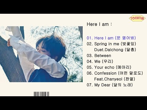 [Full Album] Yesung (Super Junior) - Here I am [1st Mini Album]
