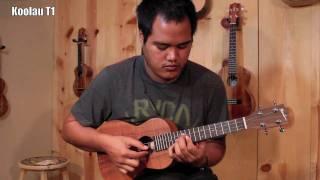 3 Hawaiian Made Tenor Koa 'Ukulele - Kamaka HF-3- Koolau T1- Kanilea  K1-T Sound Comparison
