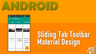 Sliding Tabs Toolbar, Material Design Android - Parte 8