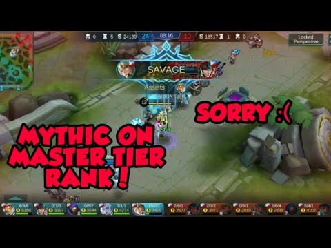 MYTHIC PLAYER IN MASTER TIER RANK