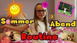 Sommer - Abend - Routine | Spielen, Turnen, Lernen uvm.