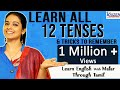 All tenses in English Grammar through Tamil # 80 by Malar