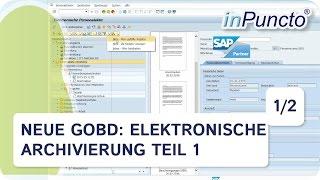 GoBD: Elektronische Archivierung – wie erreiche ich Effizienz & Revisionssicherheit (1)