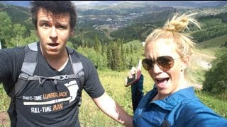 Hiking with my FIANCE!!!