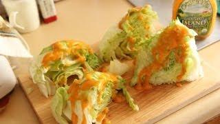 Iceberg Salad Wedge Lunch Recipe - Southern Queen Of Vegan Cuisine 18/328