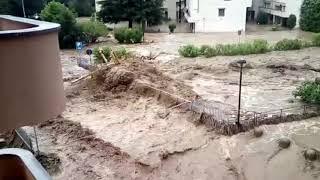 Dervio invasa da acqua e fango