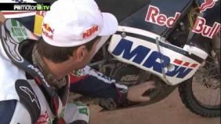 MRW Dakar Team - Marc Coma nos muestra su KTM 450 para el Dakar 2012