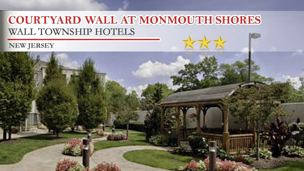 Courtyard Wall At Monmouth Ss Corporate Park Township Hotels New Jersey