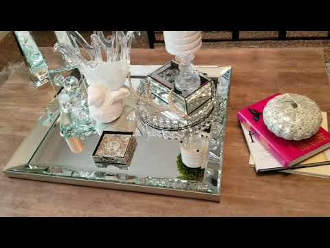 Glam Coffee Table Decor How To Bring Balance