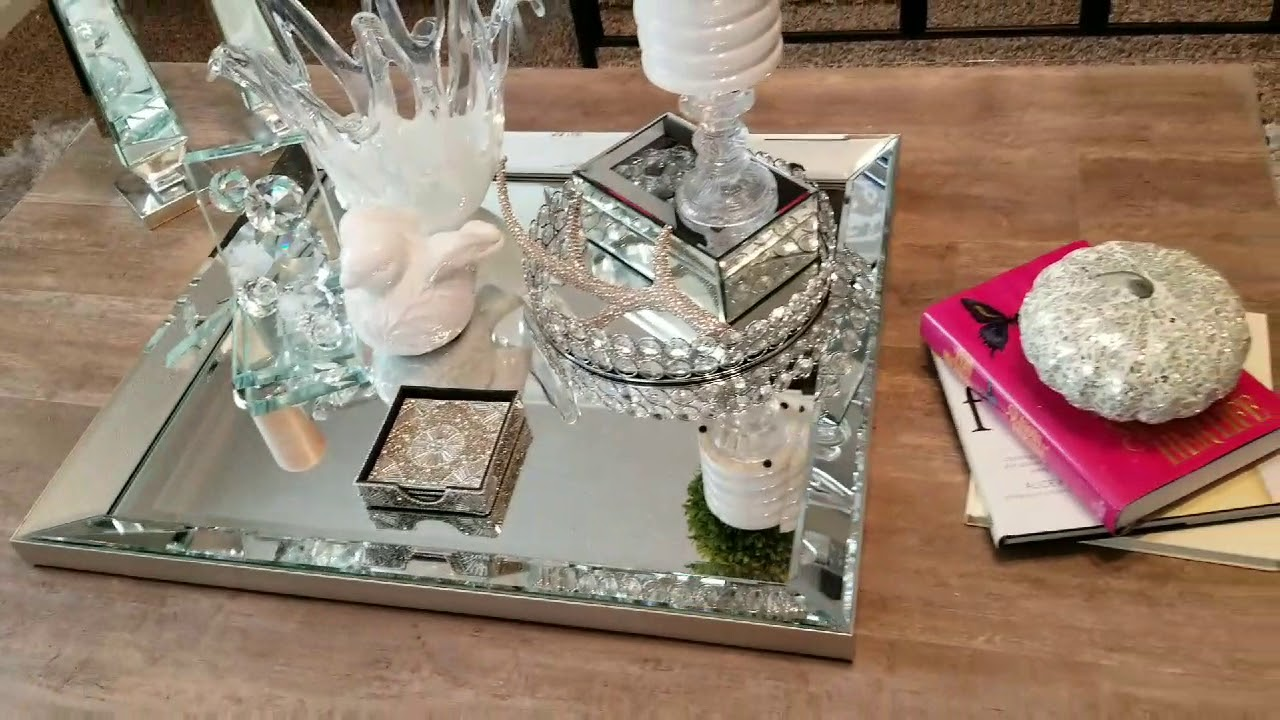 GLAM COFFEE TABLE DECOR HOW TO BRING BALANCE YouTube