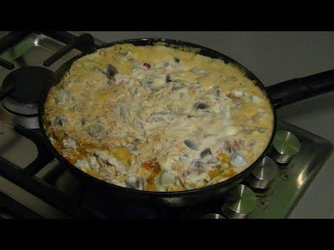 паста под соусом из говяжьих почек / бешеный повар / спагетти с подливой / готовим дома