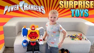 Michael's Mighty Morphin Power Rangers Toy Hunt!