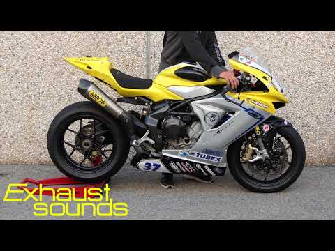 MV Agusta F3 675 - Arrow Competition - Exhaust Sounds #013