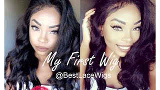 My First Wig| The most Natural Looking Indian Virgin Hair Lace Front Wigs
