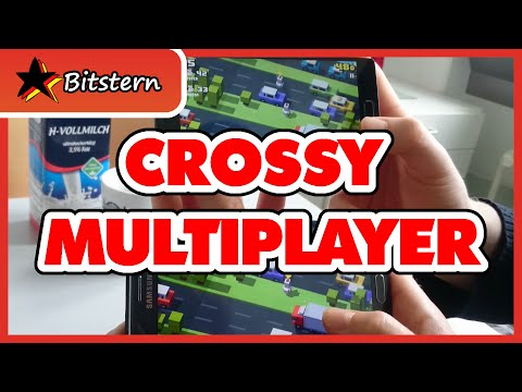 CROSSY ROAD MULTIPLAYER Mode Update! - Available for Android - Gameplay April 2016 - 동영상