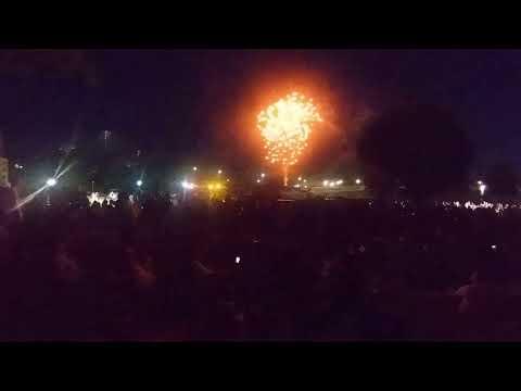 Canada Day 2018 Fireworks, Harris Park, London, Ontario - Part Three