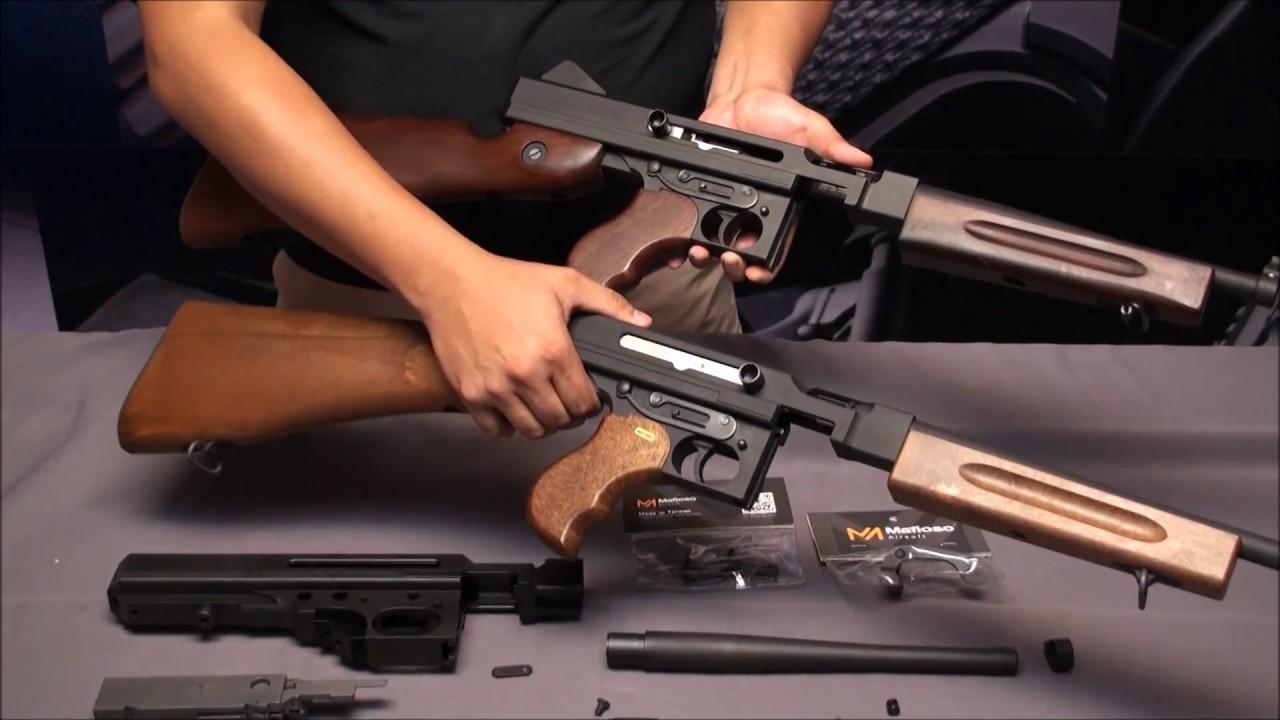 Mafioso Steel Upgrade Parts for Cybergun M1A1