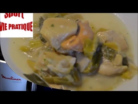 recette-cookeo-:-saint-jacques-aux-poireaux