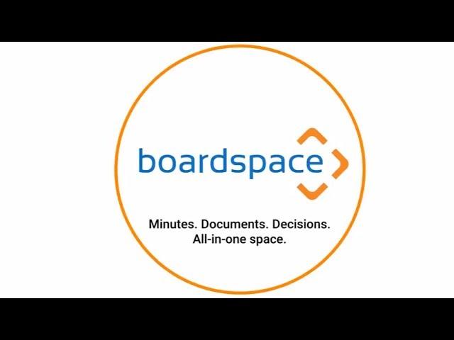 Boardspace board management software